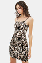 Come Thur Body Dress - Leopard Print