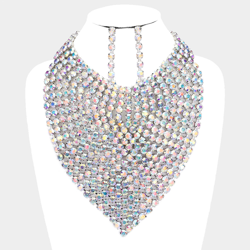 Blinding Lights Bib Choker
