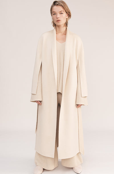 THE DAWN DOUBLE FACE CASHMERE COAT (CHAPTER THREE by Arjé)