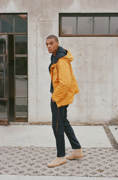 THE NILS WATER RESISTANT REVERSIBLE PADDED JACKET
