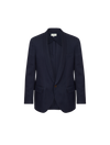 THE PIERO SMOKING FINE WOOL BLAZER