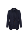 THE ELI SINGLE BREASTED FINE WOOL BLAZER