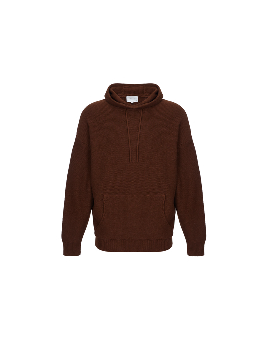 THE MATEU CASHMERE BLEND HOODY SWEATER
