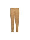 THE JONA PLEAT TAILORED STRETCH LINEN PANTS
