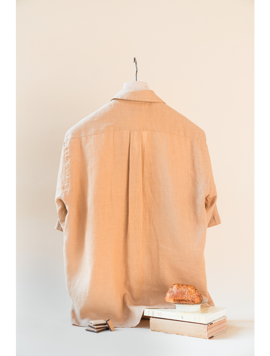 THE ELIO SHORT SLEEVE LINEN SHIRT