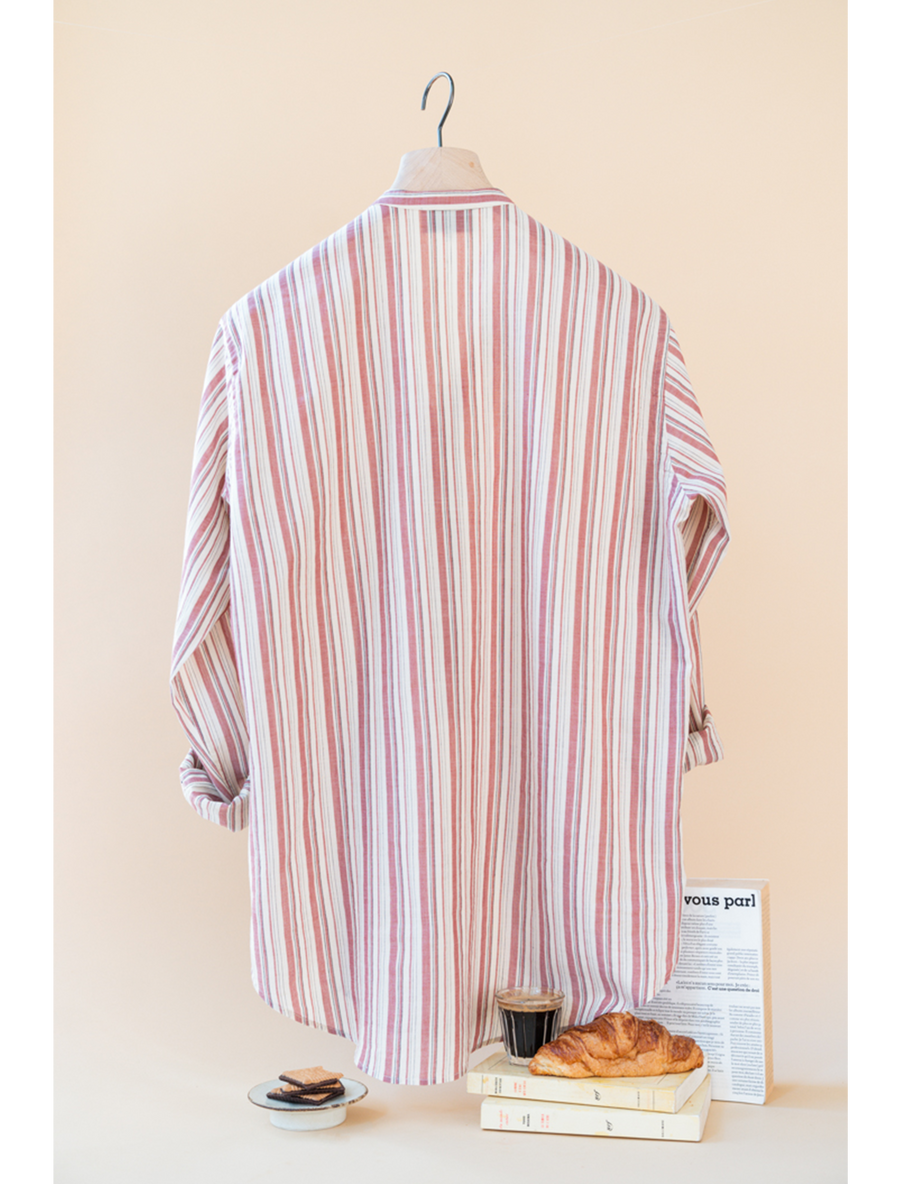 THE LEE BUTTON DOWN STRIPE SHIRT
