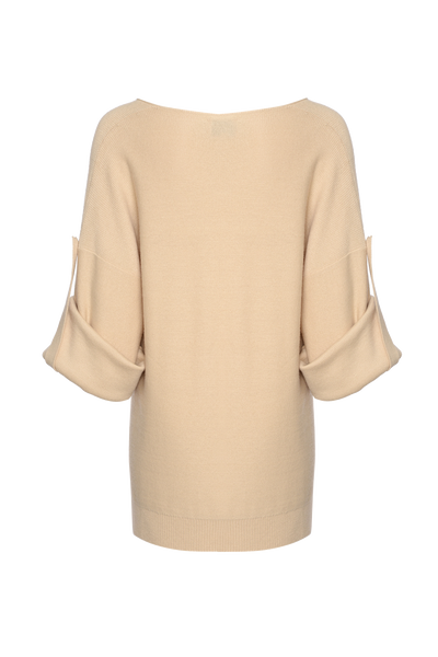THE MILOS OVERSIZED VNECK KNIT