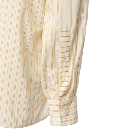 THE LU MONDRIAN STRIPED COTTON SHIRT