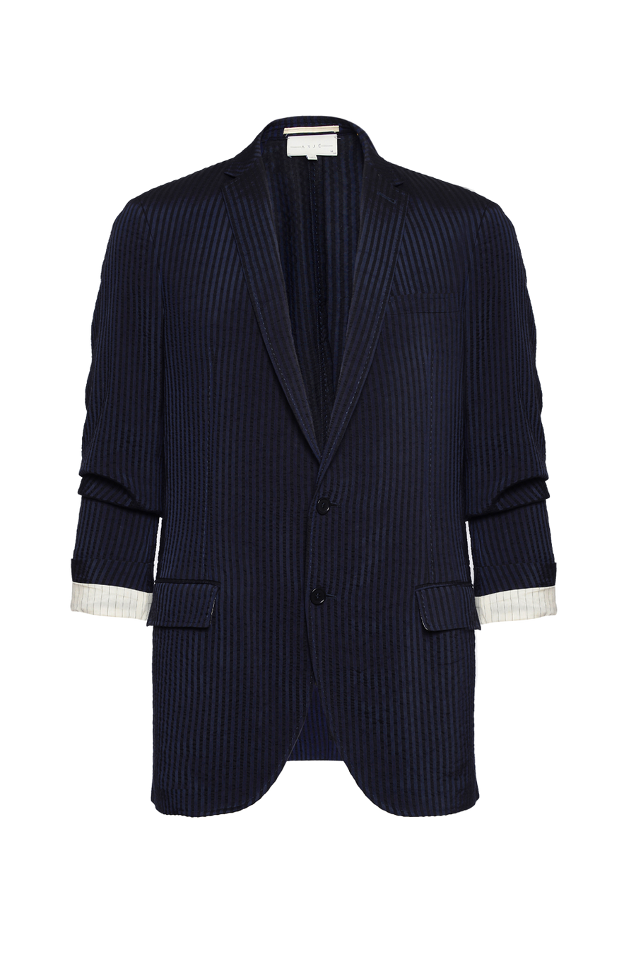 THE ELI CRUSHED STRIPE BLAZER