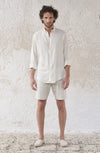THE LINEN MALBORO MAN SHIRT