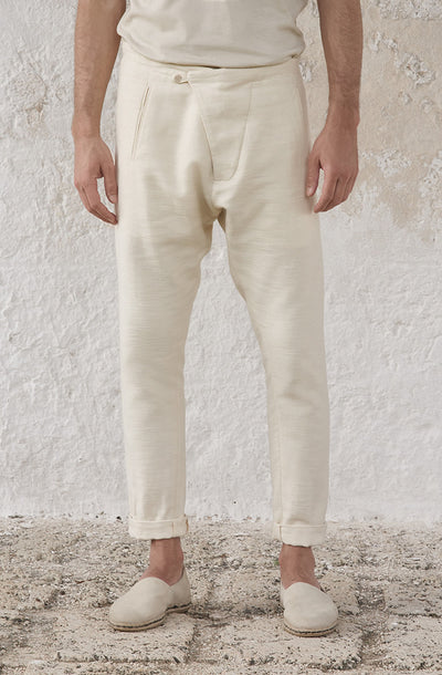 THE ORIENTAL COTTON TEO PANT