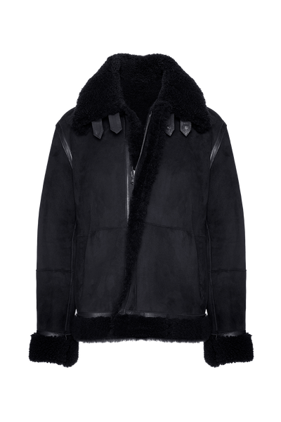 THE GEO REVERSIBLE SHEARLING JACKET (CHAPTER THREE by Arjí©)