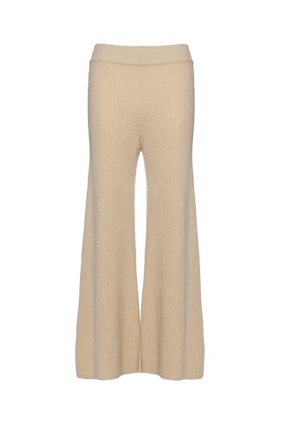 THE CORTINA CASHMERE BLEND KNIT PANTS
