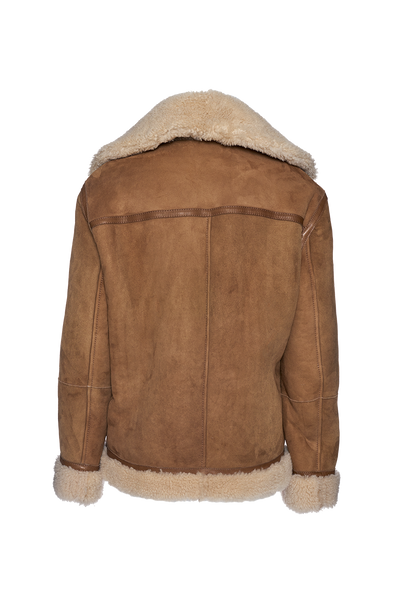 THE GEO REVERSIBLE SHEARLING JACKET (CHAPTER THREE by Arjé)