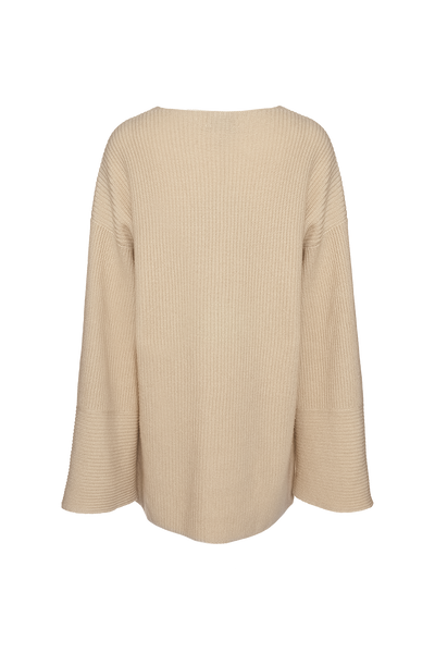 THE CORTINA CASHMERE BLEND V-NECK SWEATER (CHAPTER THREE by Arjé)