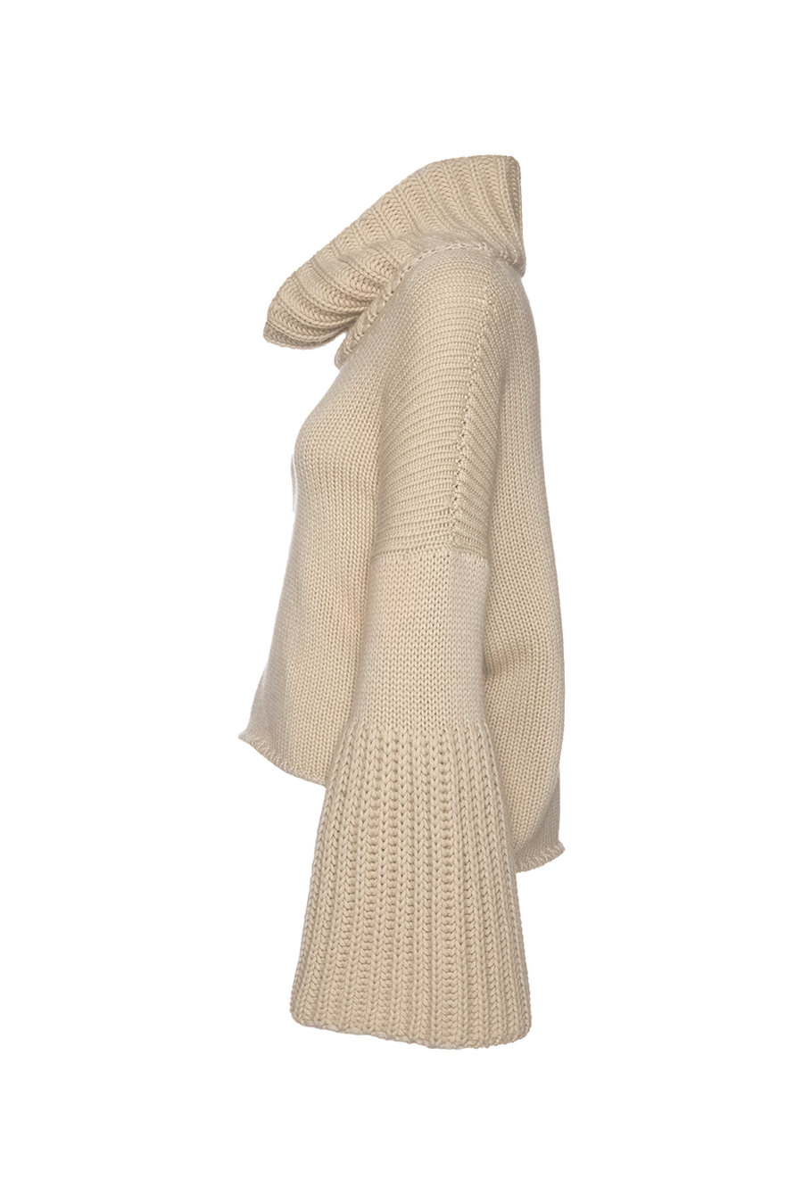 THE COURCHEVEL CASHMERE TURTLE NECK SWEATER