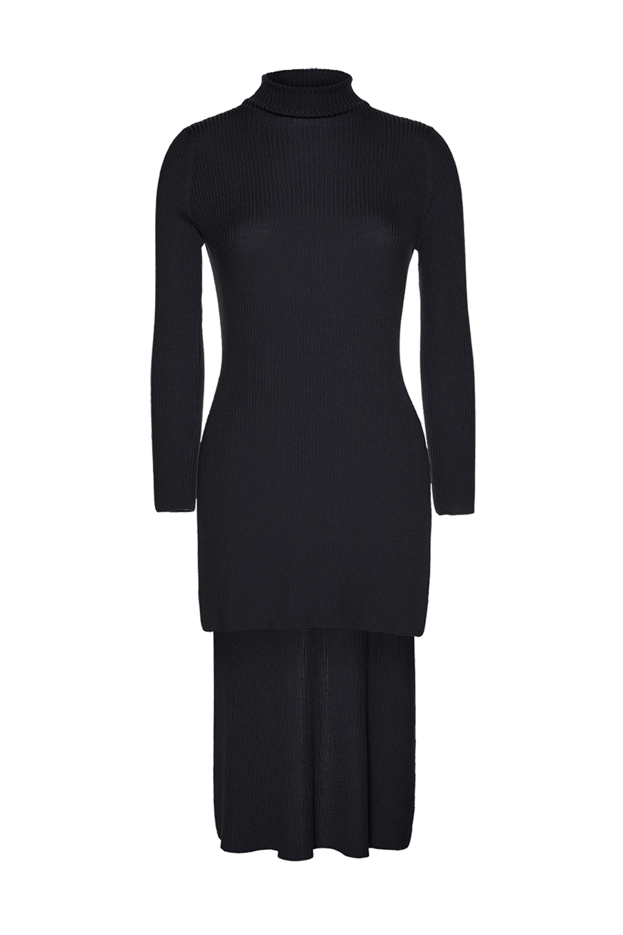 THE ST MORITZ RIB WOOL TURTLE NECK KNIT (CHAPTER THREE by Arjí©)