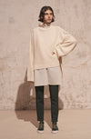 THE MILOS TURTLE NECK WIDE SLEEVE KNIT