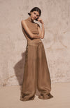 THE SIERRA WIDE LEG ORGANZA PANTS