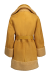 THE VENUS SHORT HAIR REVERSIBLE SHEARLING COAT