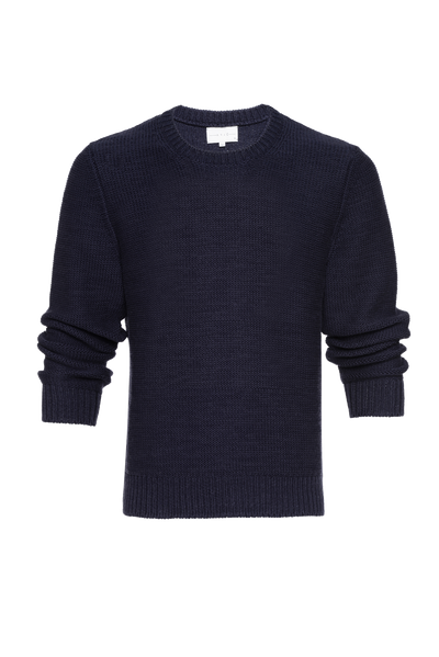 THE PATMOS ROUND NECK KNIT