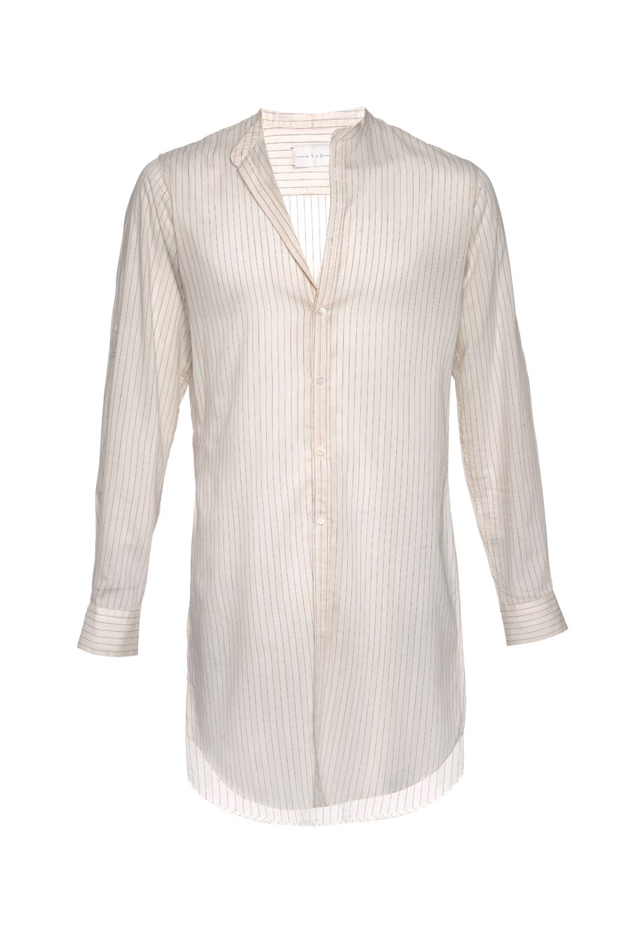 THE XAVIER STRIPED TUNIC SHIRT