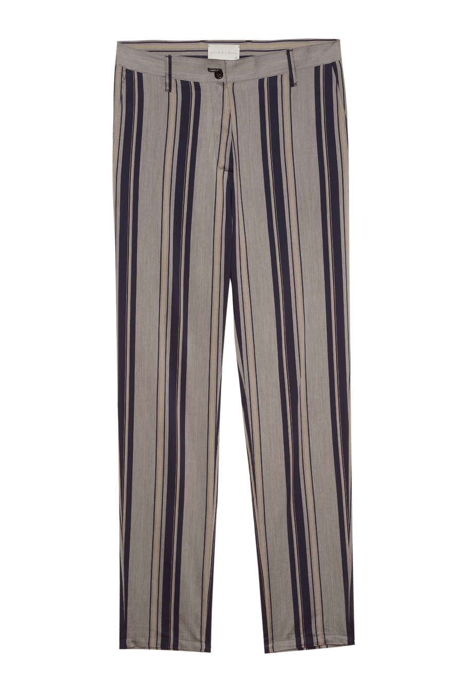 THE NICO STRIPED COTTON PANTS