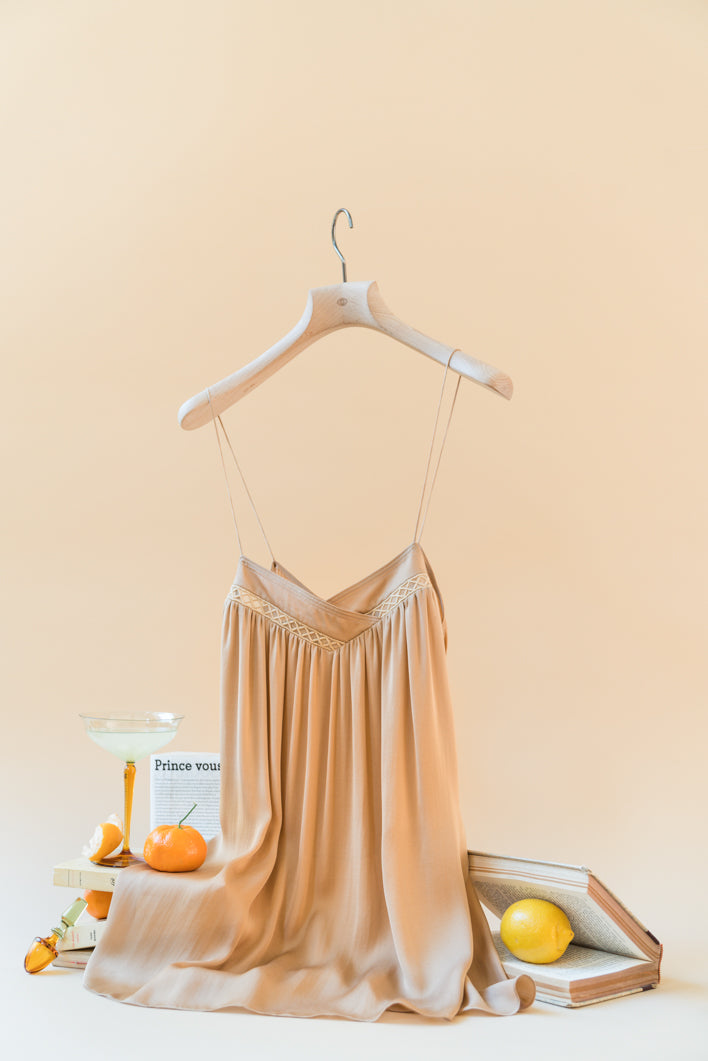 THE ROSA SILK CAMI TOP