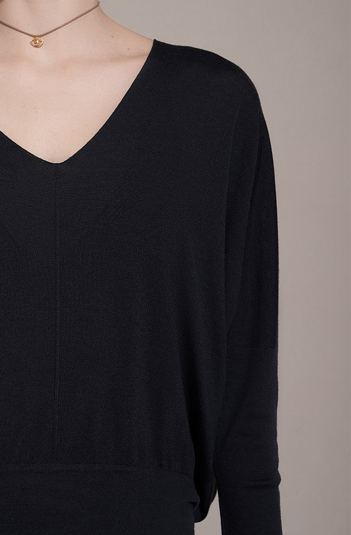 THE PURE VNECK SWEATER