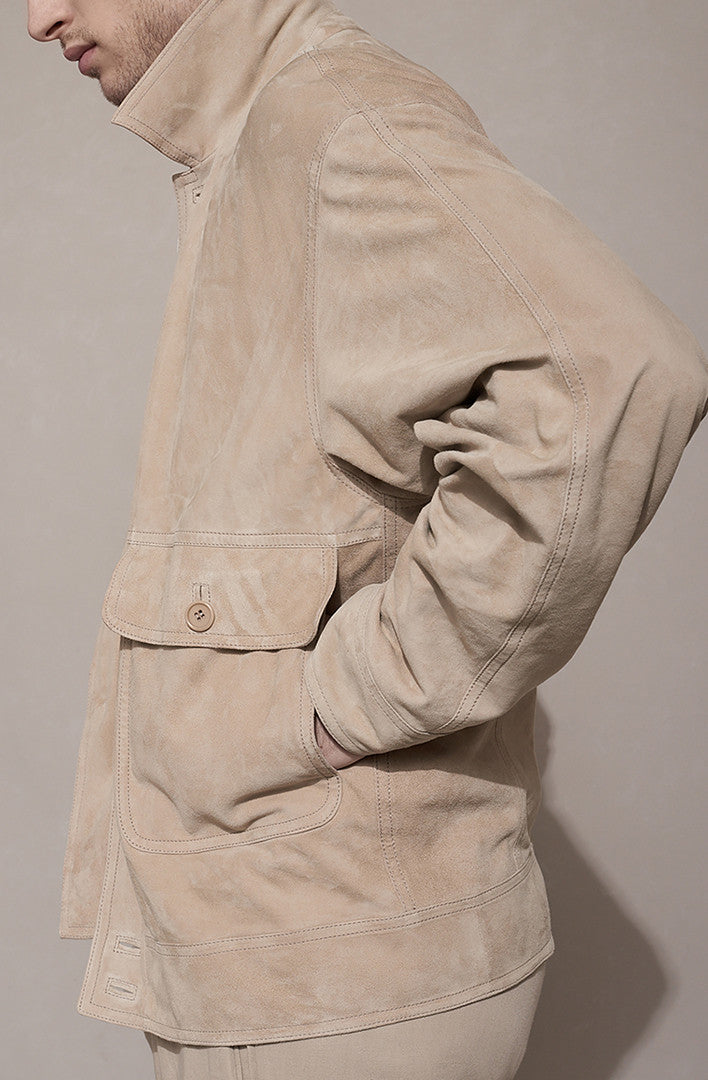 THE SUEDE GOMISTA JACKET