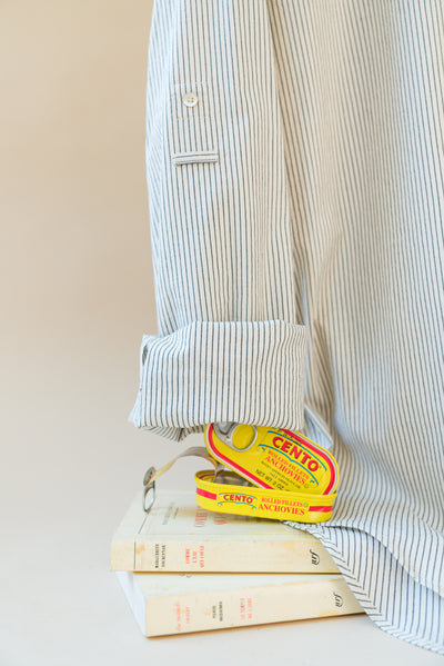 THE OLI MONDRIAN COTTON STRIPE SHIRT