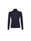 THE CAMILE MERINO WOOL TURTLE NECK SWEATER