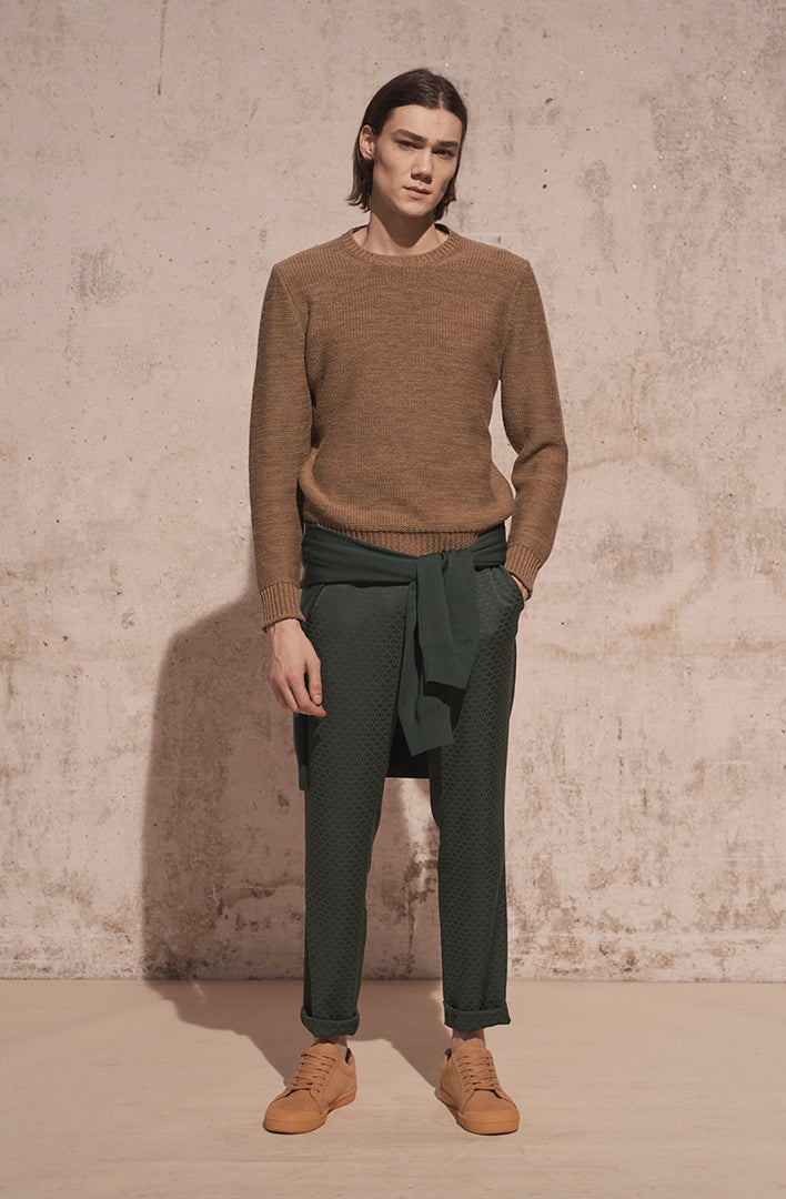 THE NICO JACQUARD PANT