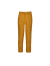 THE QUINO HIGH WAISTED TAILORED LINEN PANTS