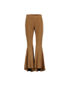 THE TESS SCULPTURAL SUEDE PANTS