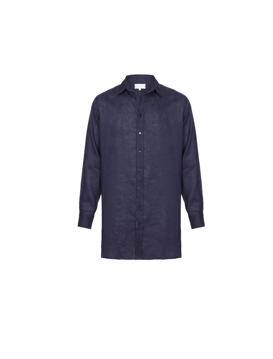THE TOBIAS LONG LINEN SHIRT