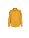 THE MARLBORO MAN LINEN SHIRT IN SAFFRON