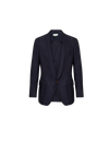 THE PIERO SMOKING LINEN VISCOSE BLAZER
