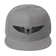 Black Threads BIRD E-JUICE Snapback Hat-Max VG-BIRD E-JUICE