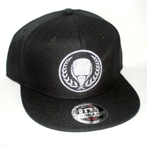 Black/White BIRD E-JUICE Snapback Hat-Max VG-BIRD E-JUICE