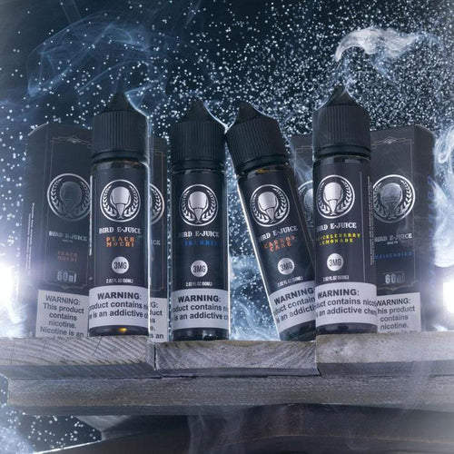 Boxed 60ml Featured Flavor Set-Max VG-BIRD E-JUICE
