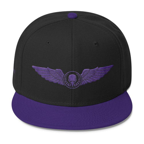 Purple Threads BIRD E-JUICE Snapback Hat-Max VG-BIRD E-JUICE