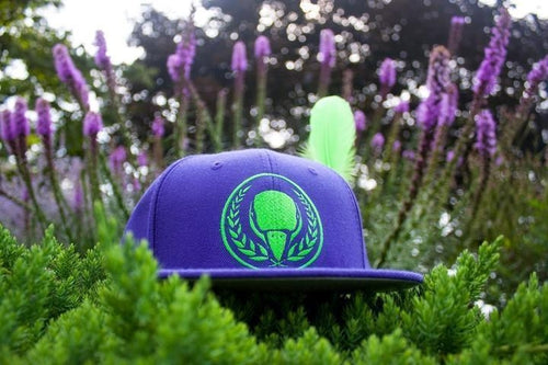Purple/Green BIRD E-JUICE Snapback Hat-Max VG-BIRD E-JUICE