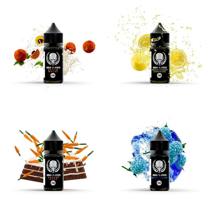 Salt Line Full Set-Max VG-BIRD E-JUICE