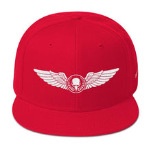 White Threads BIRD E-JUICE Snapback Hat-Max VG-BIRD E-JUICE