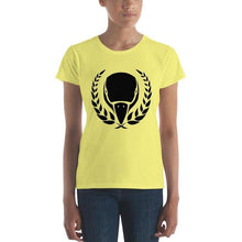 Women's Black Emblem BIRD E-JUICE T-Shirt-Max VG-BIRD E-JUICE