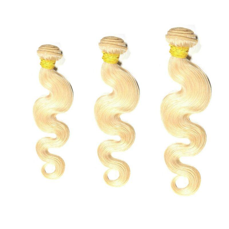 Russian Blonde Body Wave Bundle Deals - Shopsakema.com Fajas Shapewear