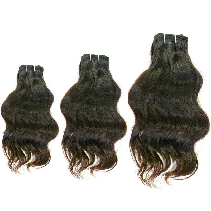 Wavy Indian Hair Bundle Deal - Sakema Premium Hair Extensions