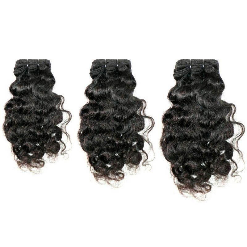 Curly Indian Hair Bundle Deal - Sakema Premium Hair Extensions