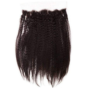 Brazilian Kinky Straight Lace Frontal - Sakema Premium Hair Extensions
